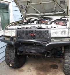for sale selling my 4x4labs front bumper 12k warn winch  [ 1920 x 1440 Pixel ]