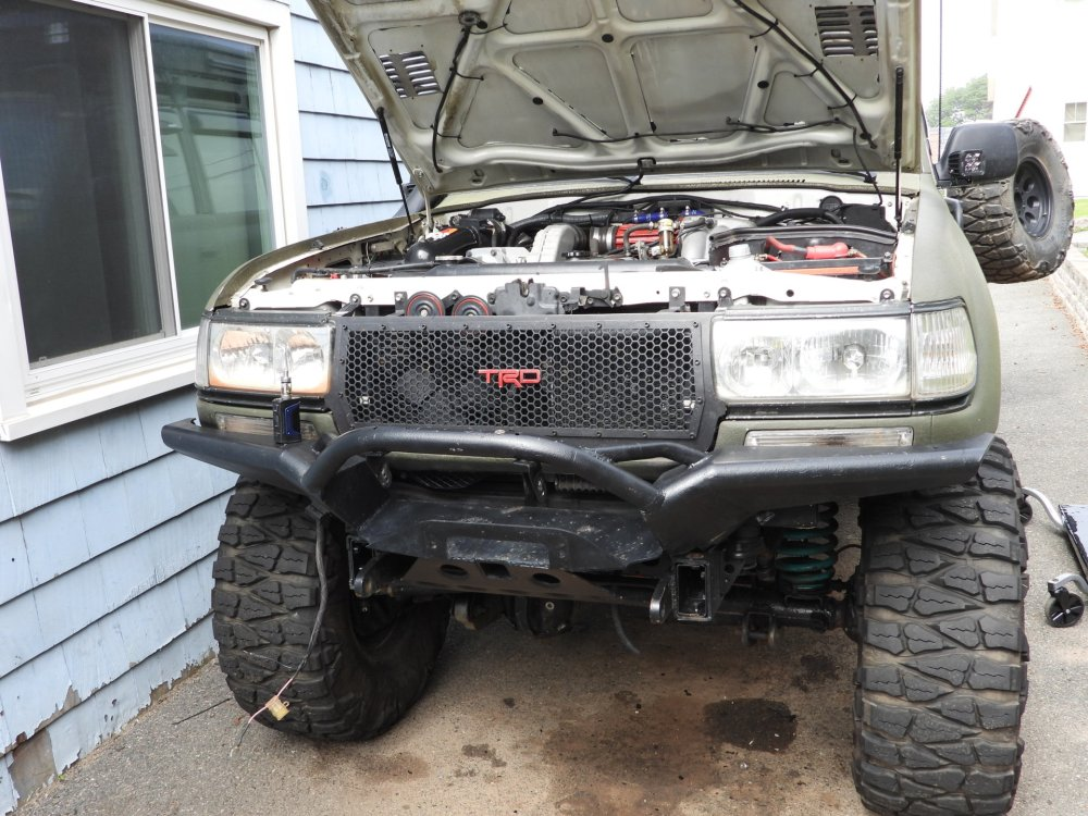 medium resolution of for sale selling my 4x4labs front bumper 12k warn winch