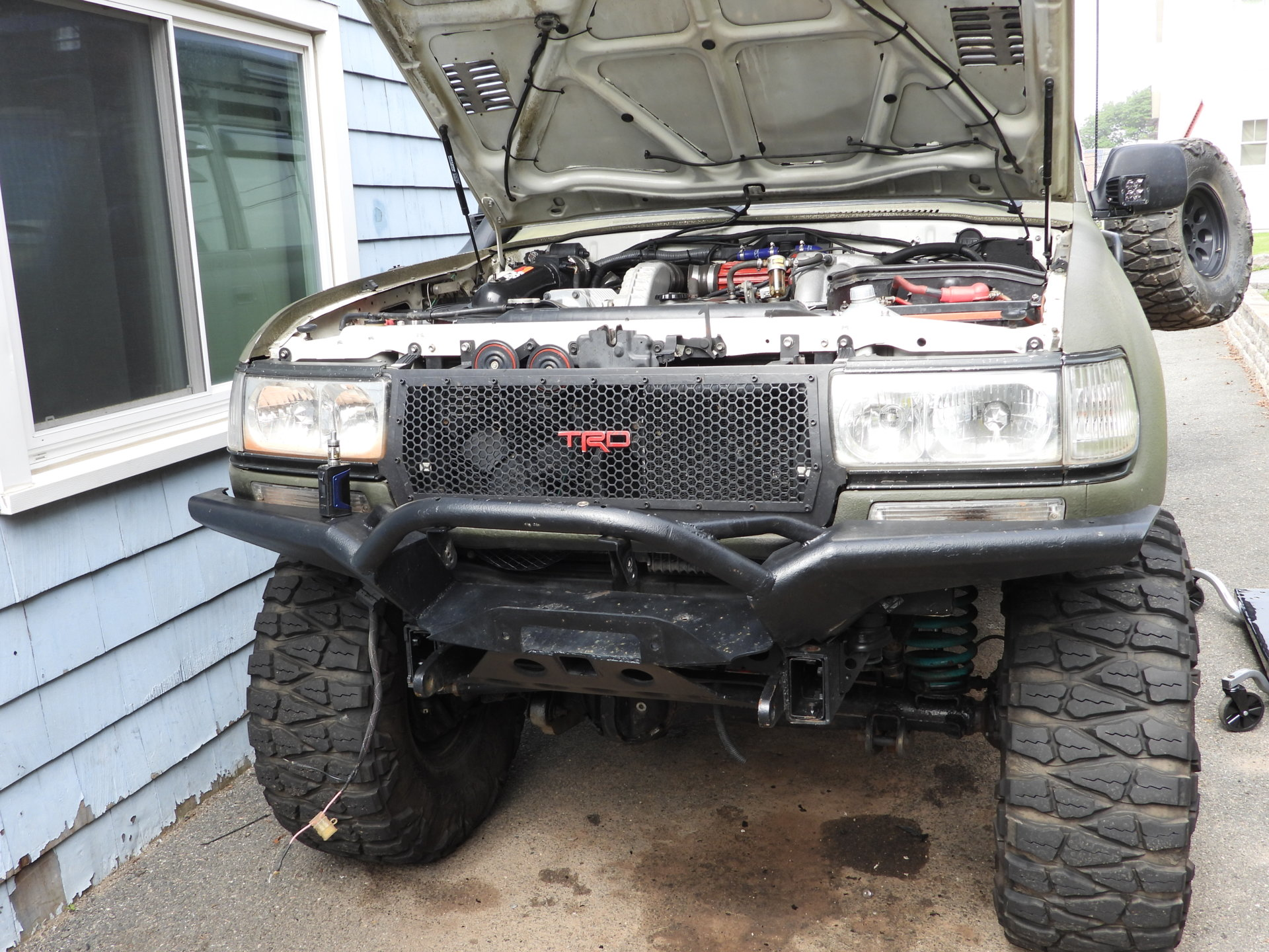 hight resolution of for sale selling my 4x4labs front bumper 12k warn winch
