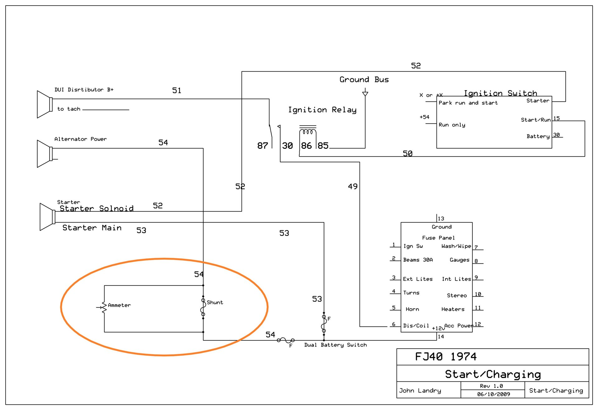 hight resolution of fj40 wiring diagram shunt jpg
