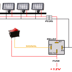 Wiring Diagram For Light Bar Without Relay Simple Trailer Will This Work On My 80? | Ih8mud Forum