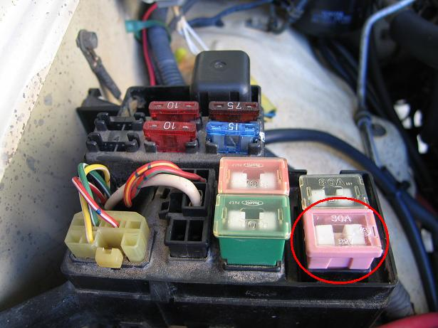 1987 Ford F 150 Wiring Diagram Ecu Adding An Additional Circuit S To Gen1 4runner Ih8mud Forum