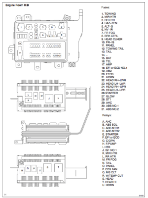 Where is the headlight (low) relay? | IH8MUD Forum