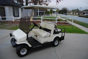 For Sale  Yamaha G9A Gas powered golf cart!One owner