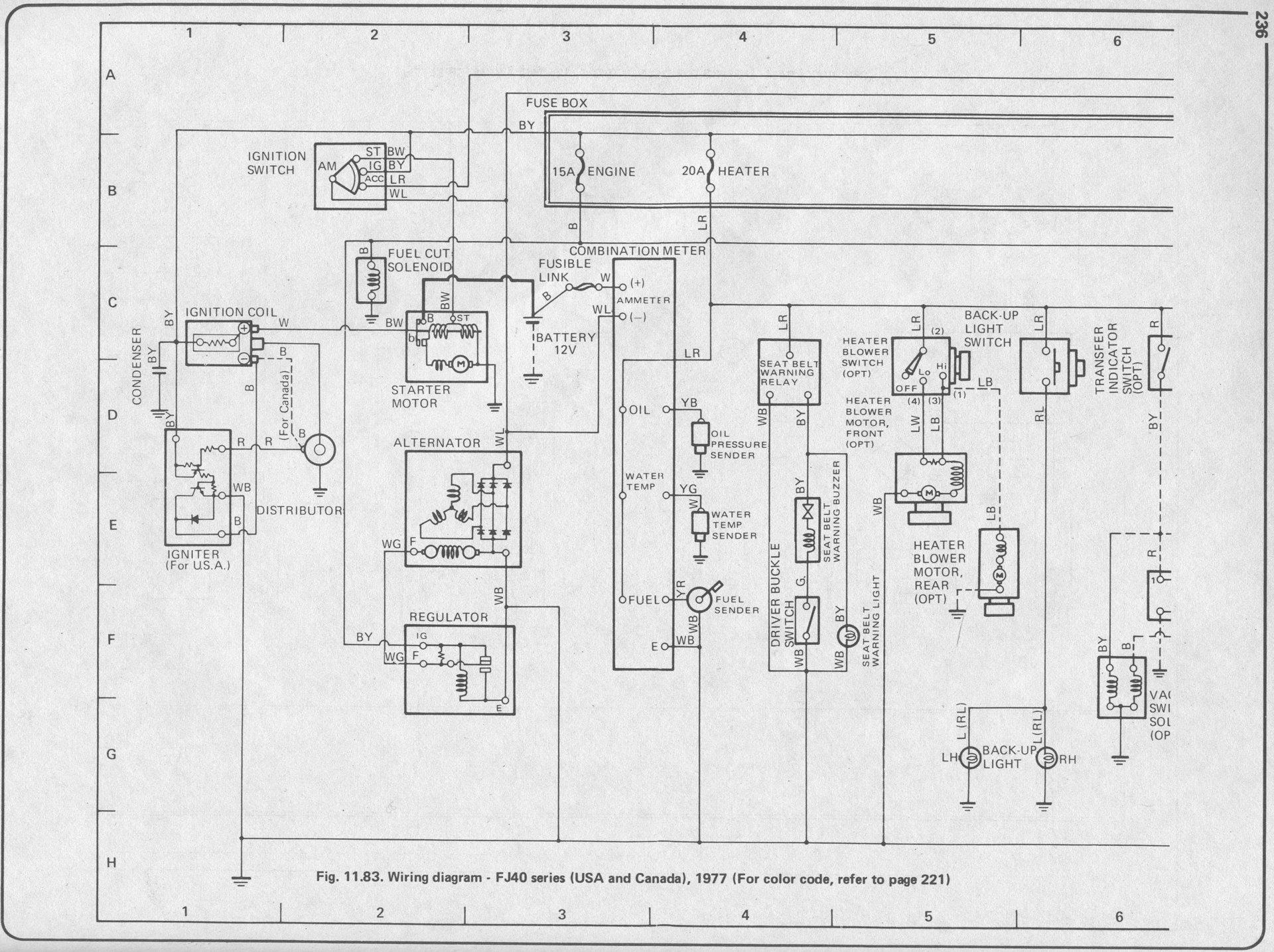 1977 fj40 wiring diagram sunflower plant life cycle voltage regulator and alternator ih8mud forum