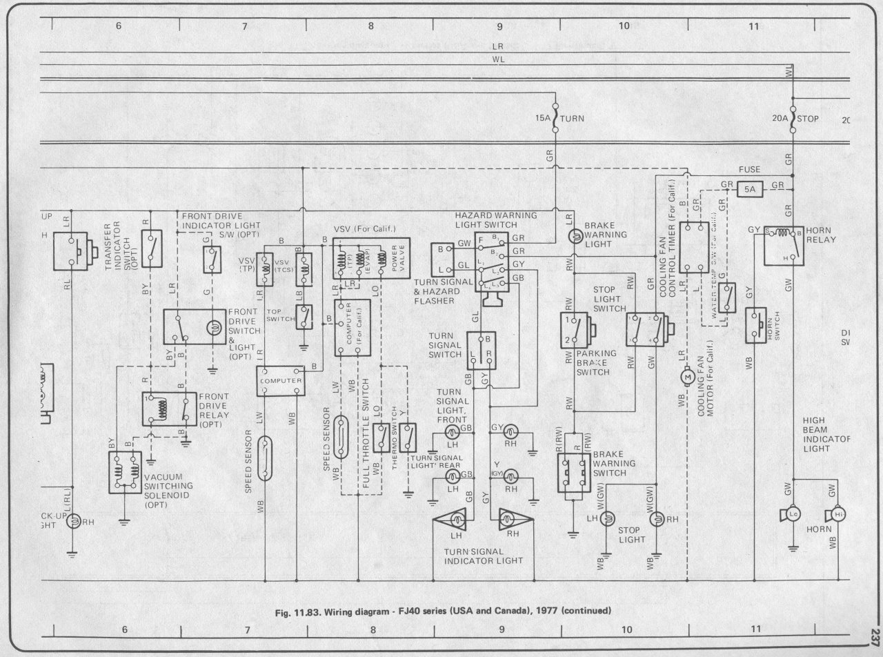 1974 toyota land cruiser wiring diagram samsung dryer belt replacement 74 fj40 get free image about
