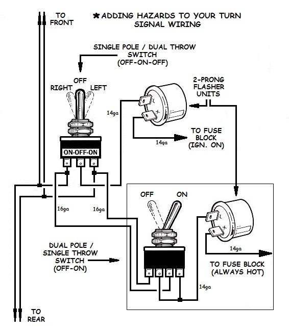 hot rod turn signal wiring diagram tachometer ok, uncle. signal/hazard problems | page 3 ih8mud forum