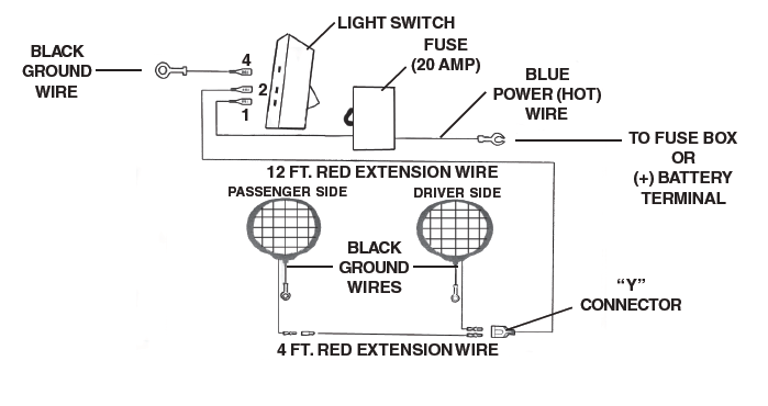 Wiring Diagram For Off Road Lights How To Wire Multiple Off Road