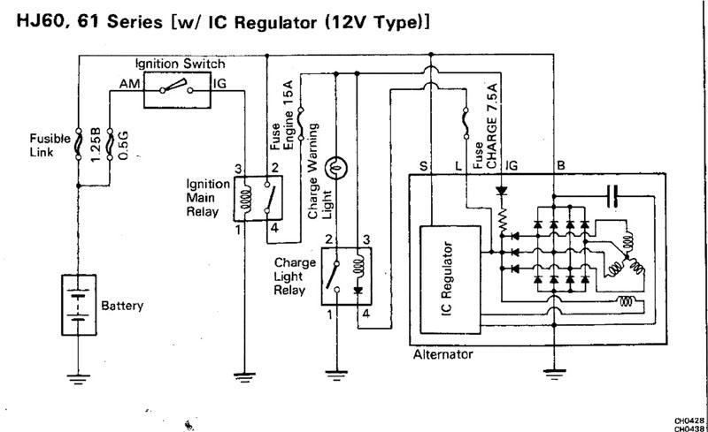 4 Wire Alternator Wiring Diagram 4 Free Image About Wiring