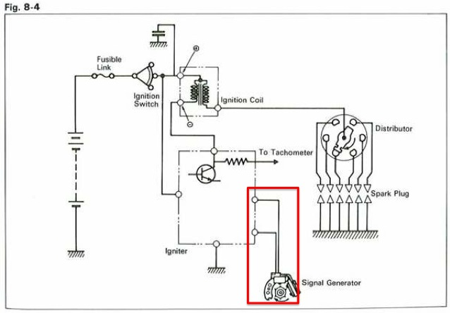 wiring diagram battery ignition
