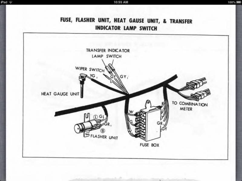 turn signal flasher relay diagram