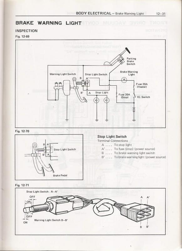 Lamp Switch Wiring Diagram Testing Brake Light Switch Ih8mud Forum