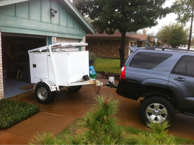 For Sale 4x6 Enclosed Camping Trailer Dfw Tx