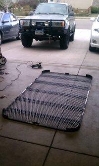 "Low Profile roof rack ""build"""