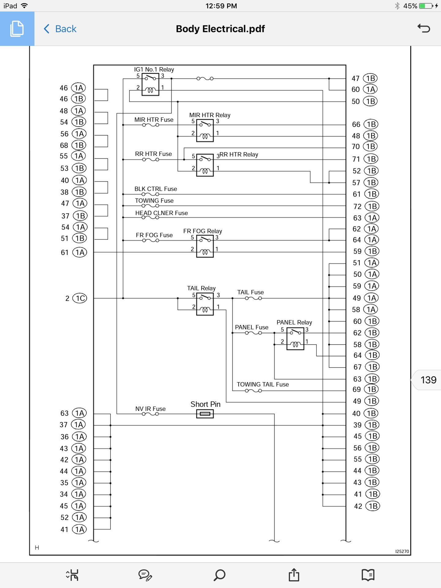 hight resolution of headlight electrical mystery lx470 ih8mud forum 93 honda accord fuse box diagram under hood fuse box