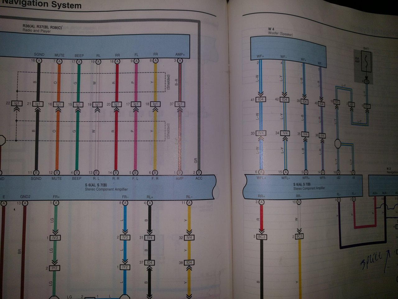 hight resolution of stereo wiring diagram for 03 100 series ih8mud forum at highcare asia 100 series land cruiser