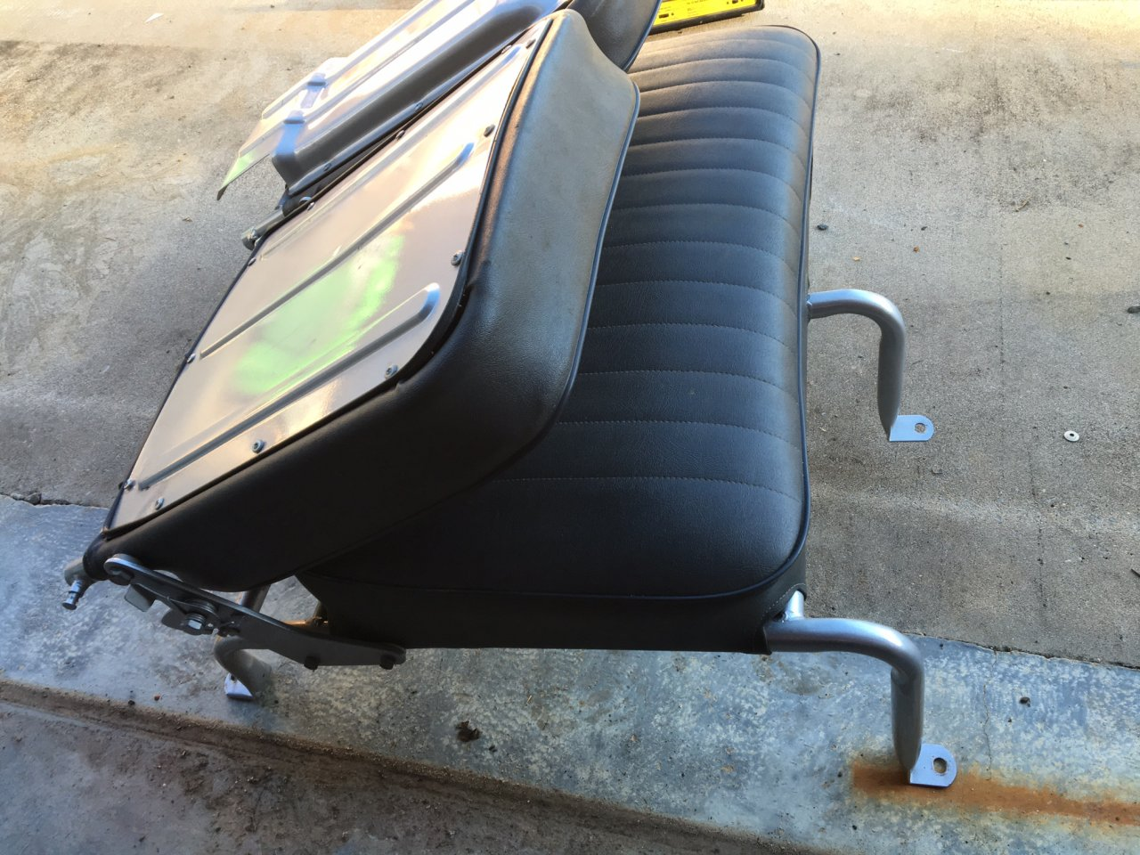 For Sale 1972 Front Bench Seat New Covers Powder Coat