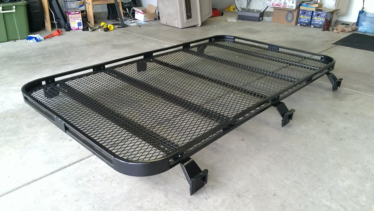 "Low Profile roof rack ""build"""