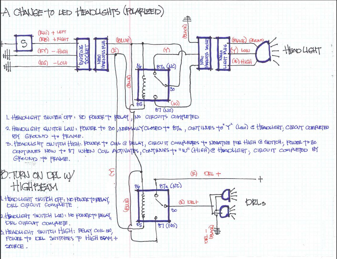 hight resolution of hzj75 headlight wiring diagram 30 wiring diagram images h4 led headlight wiring diagram 7 led headlight wiring diagram