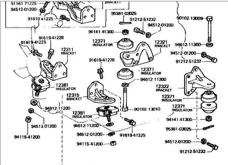 Toyota 2f Engine Diagram Toyota 22R Engine Diagram Wiring