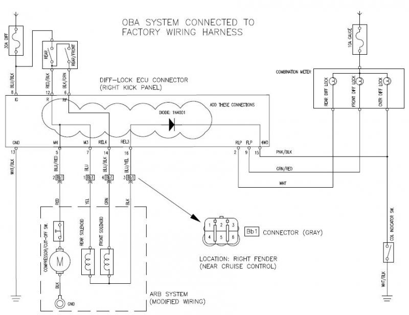 E Locker Wiring Diagram Wiring Diagrams Mashups Co