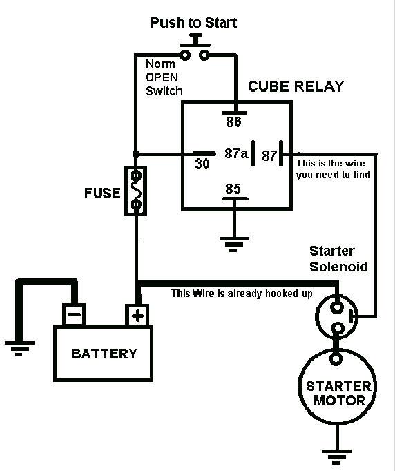 Push On Start Wiring Diagram, Push, Free Engine Image For