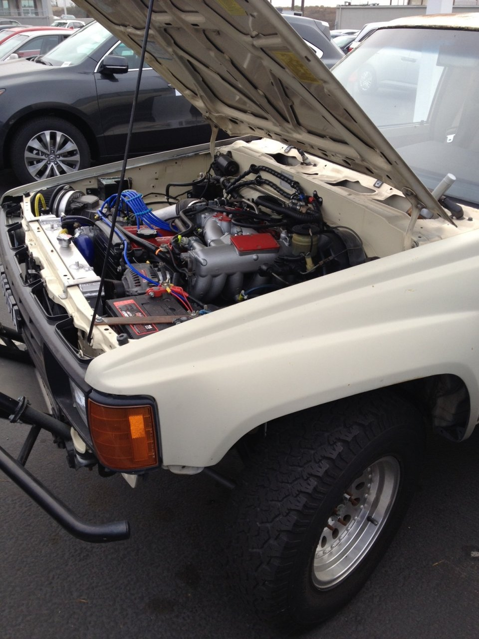 For Sale 1985 Toyota Pickup 2wd With 7MGE Supra Engine