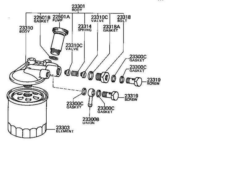 2007 Dt466 Fuel Filter Housing Diagram, 2007, Free Engine