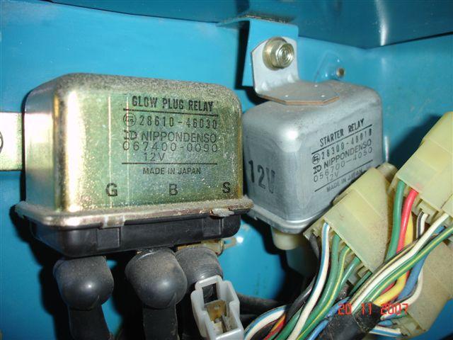Hilux Glow Plug Wiring Diagram