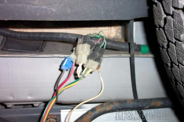 Vehicle Trailer Wiring Harness