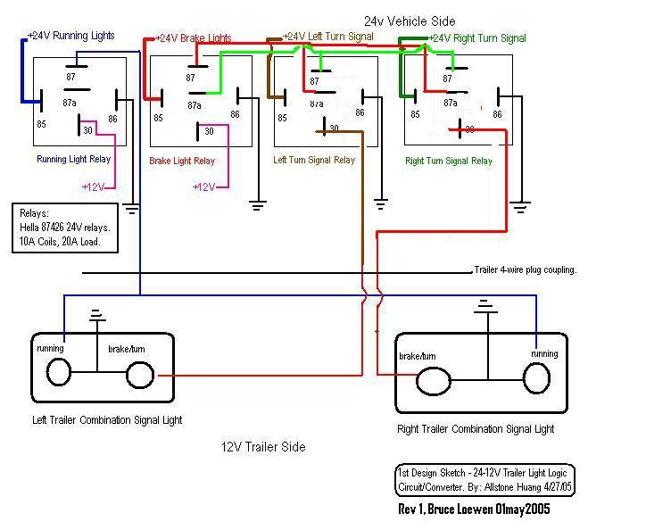 pj wiring diagram single phase reversing motor trailer lights logic circuit & step down voltage converter | ih8mud forum