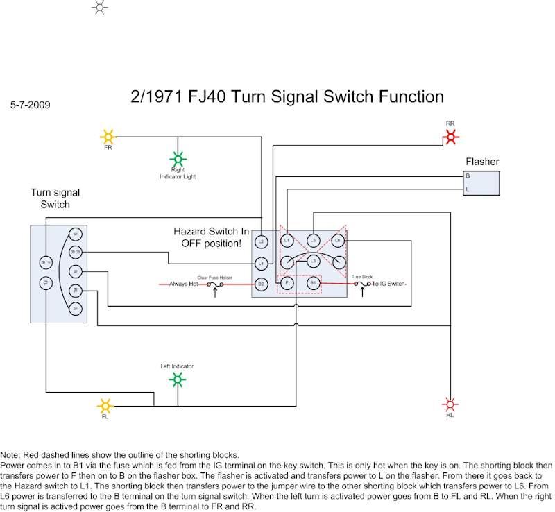 fuse switch wiring diagram pt100 rtd 71 fj40 hazard question | ih8mud forum