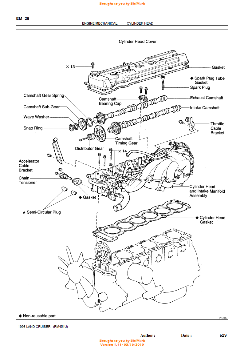 hight resolution of replacing timing chain in 1997 land cruiser ih8mud forum timing chain diagram on land cruiser