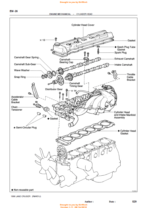small resolution of timing chain diagram on land cruiser wiring diagram list replacing timing chain in 1997 land cruiser
