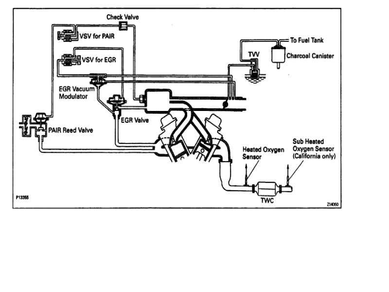 Toyota 3vze Vacuum Diagram. Toyota. Auto Wiring Diagram