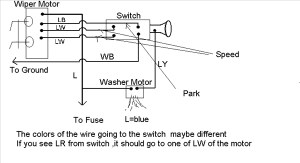 1969 Wipers: Wire Assignments? | IH8MUD Forum