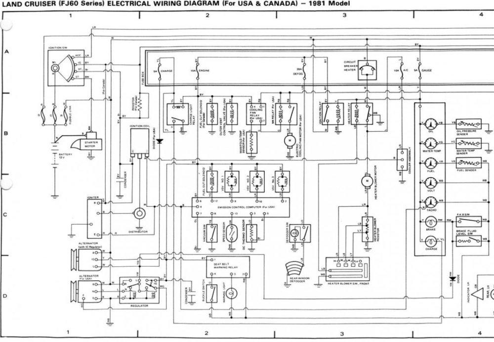medium resolution of hzj75 headlight wiring diagram