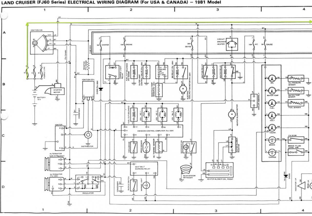 hight resolution of wiring diagram fj60 usa 1 1980 chassis body hazard horn headlight circuit fsm jpg