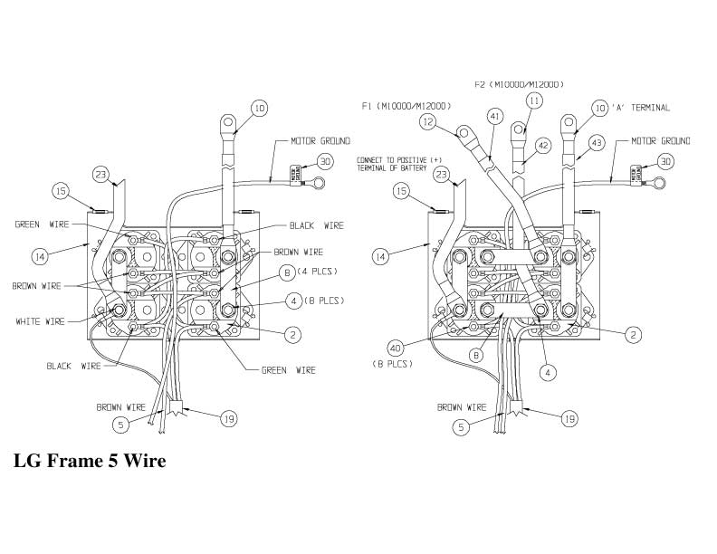 Wiring Diagram: 10 Warn 12000 Lb Winch Wiring Diagram
