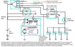 Internal wiring of BJ40BJ42HJ42 glow relay (Manual glow)   IH8MUD Forum