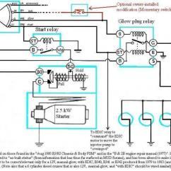 24v Alternator Wiring Diagram Leviton Decora 3 Way Switch 5603 Internal Of Bj40/bj42/hj42 Glow Relay (manual Glow) | Ih8mud Forum