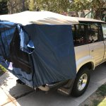 Toyota 4runner Hatch Tent