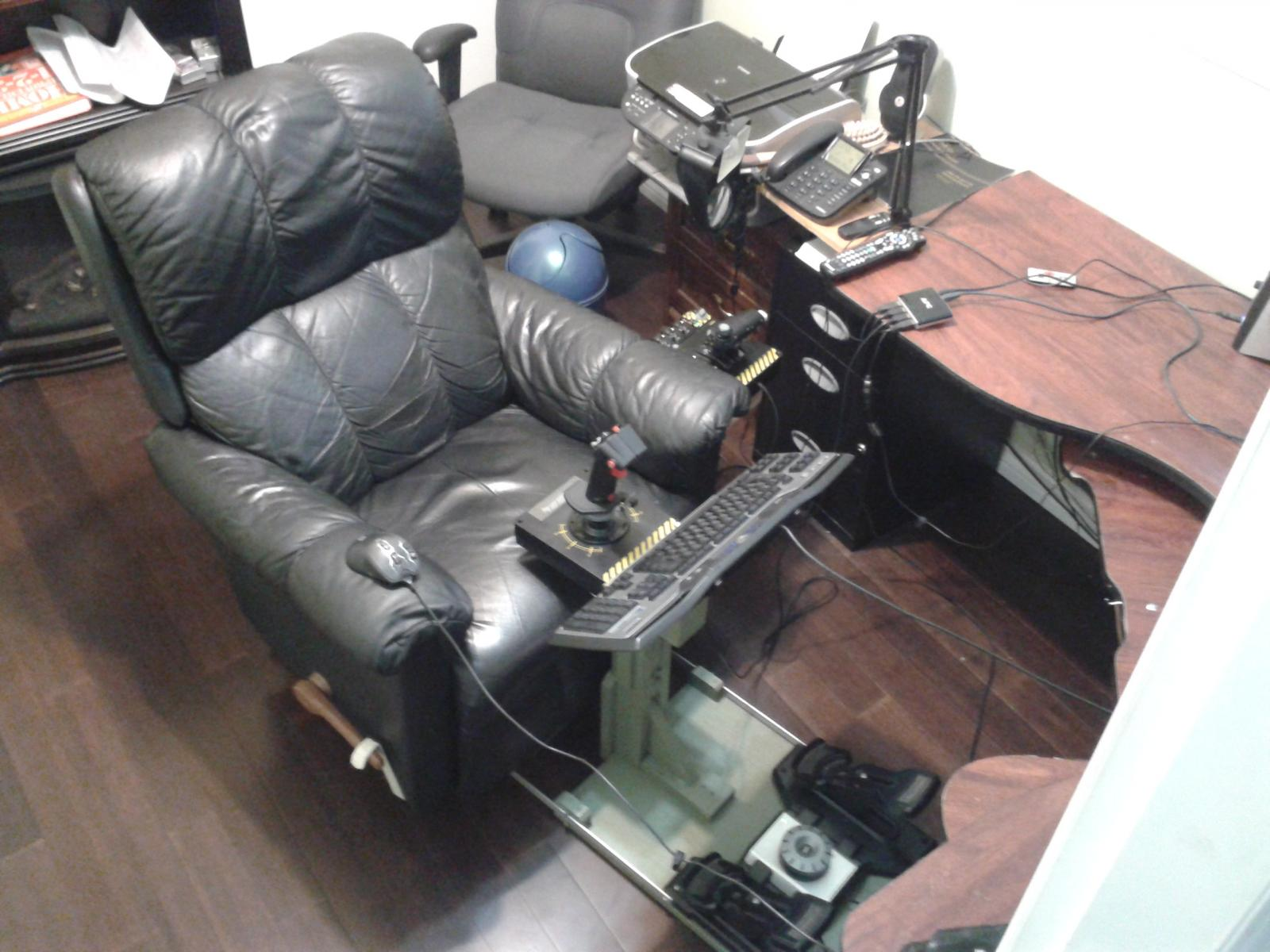 office chair joystick mount geri recliner my ghetto flight seat hardware software and controllers il 2 post 639 0 46917200 1398796640 thumb jpg