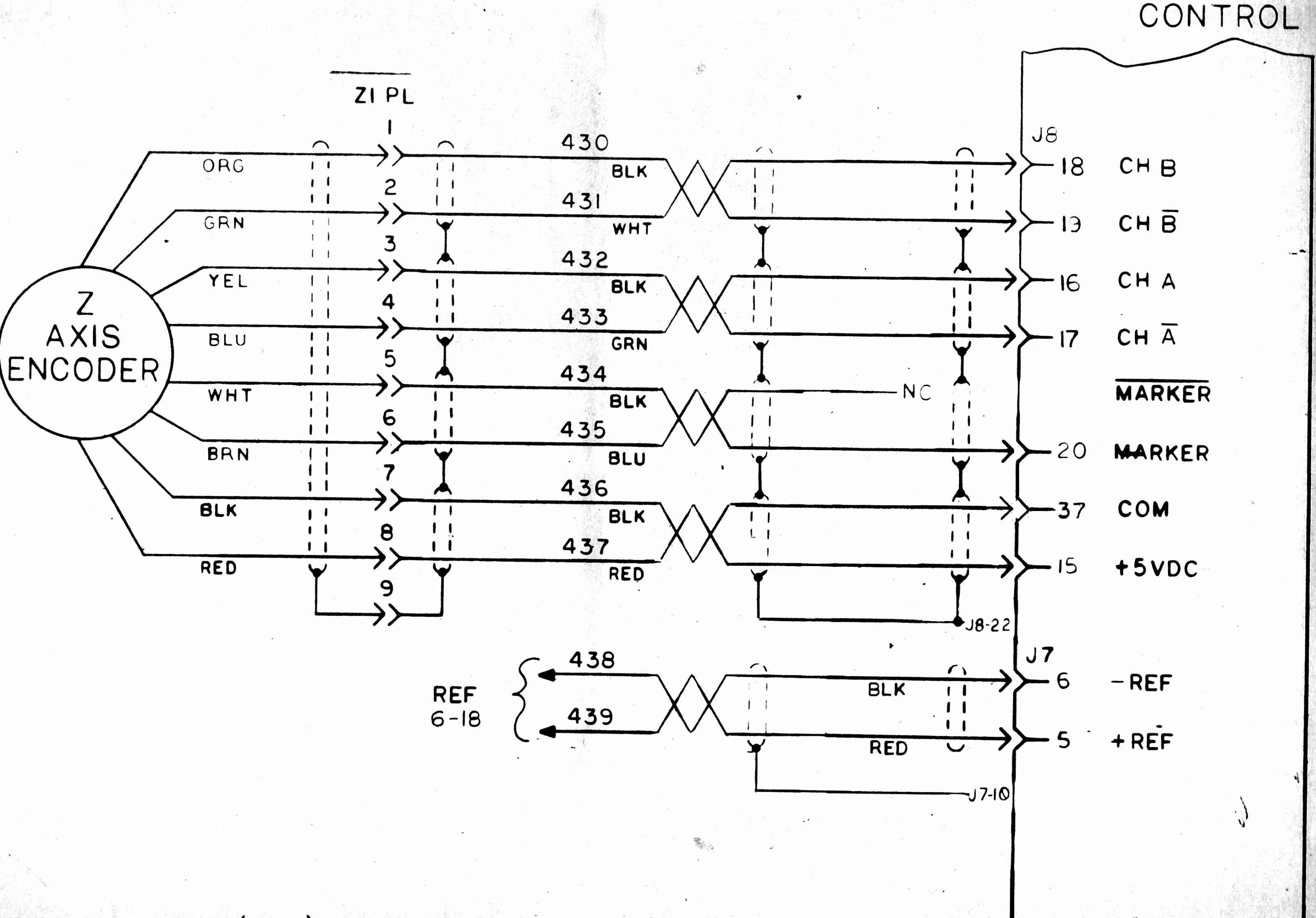 Encoder Wiring On Mesa 7i77 Board