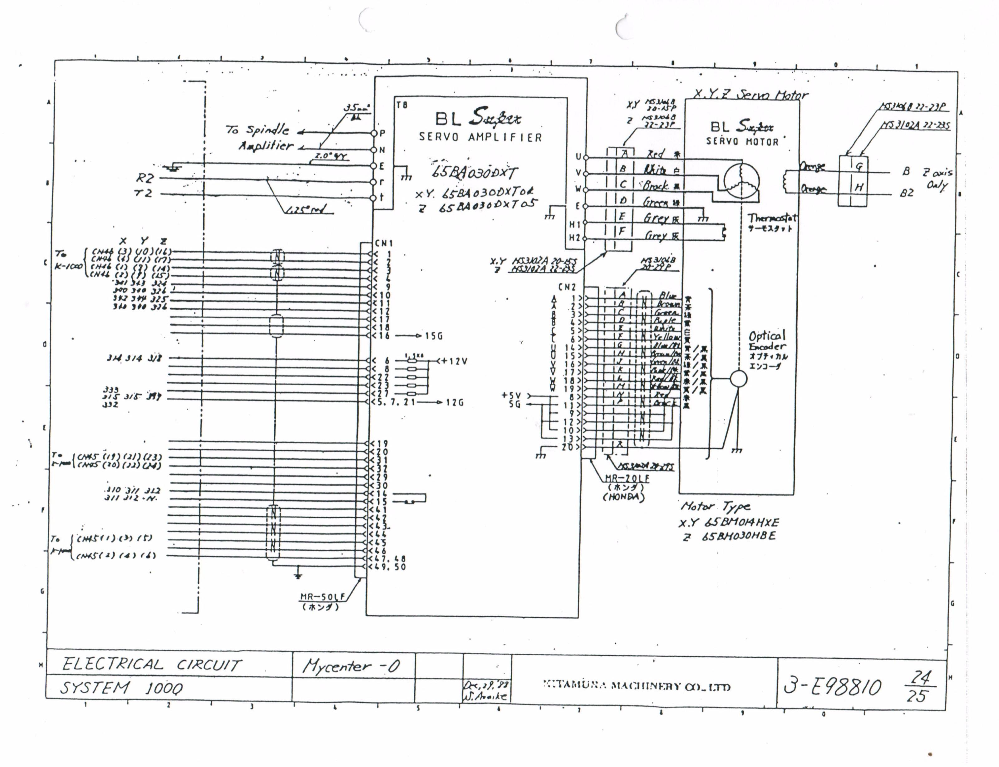 Cnc Rattm Wiring Diagram CNC Mill Diagram Wiring Diagram