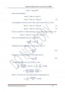 海豚梦里的星星: 2013 SPM Additional Mathematics Project (Selangor)