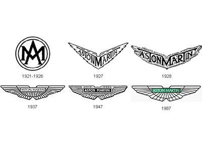 CAR LOGOS: official stories and myths