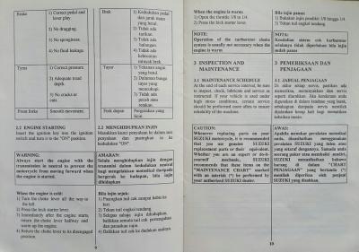 Suzuki Rg Sport 110 Manual Pdf / Husqvarna Service Repair