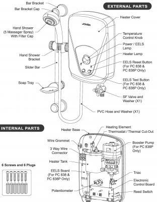 Joven Water Heater Diagram