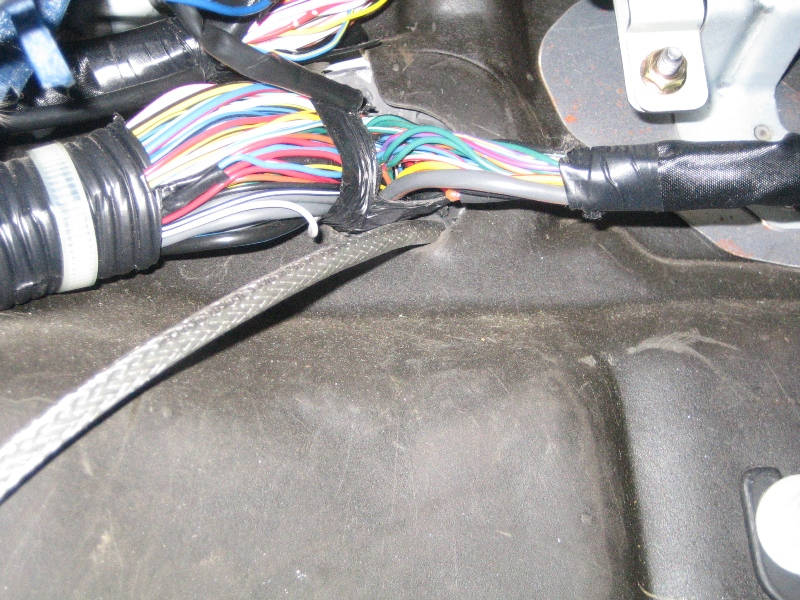 2004 mazda 6 bose subwoofer wiring diagram mitsubishi 380 stereo how to install a sub and amp non forums click image for larger version name power cable on rubber grommet 2 jpg views 13592 size 313